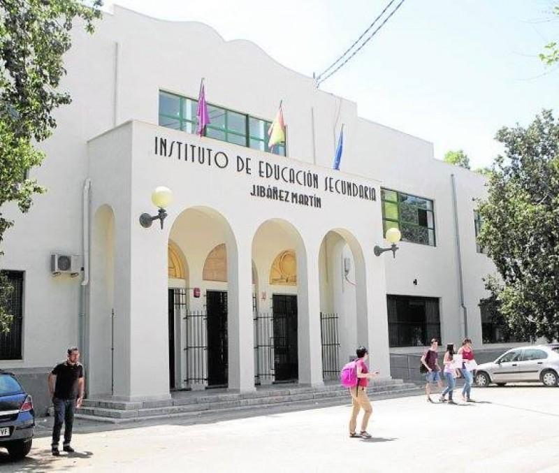 Visita a los alumnos del IES Ibáñez Martín