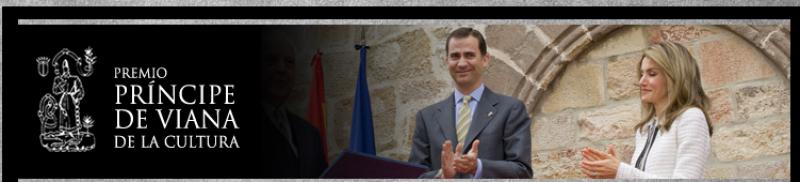Candidato al premio Príncipe de Viana 2014