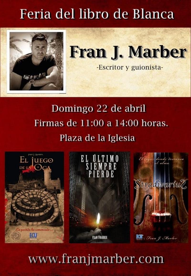 Feria del Libro de Blanca.