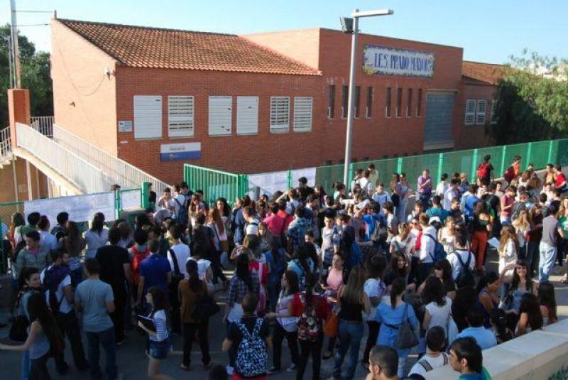 Visita a los alumnos del IES Prado Mayor.
