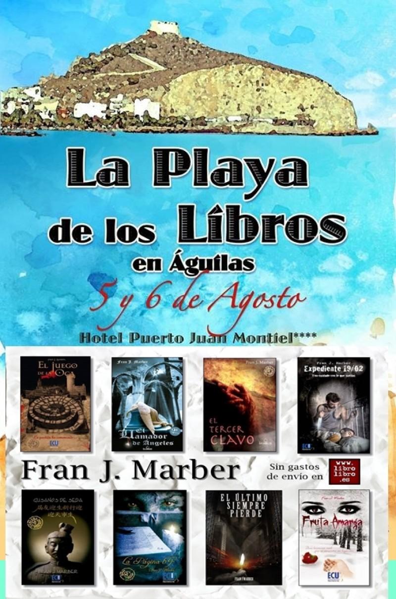 La Playa de los Libros, en Águilas.