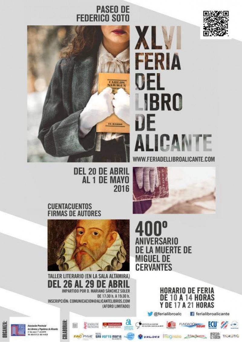 Firmas en la Feria del Libro de Alicante