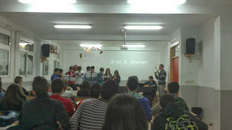 Encuentro con alumnos del IES Emiliio Pérez Piñero