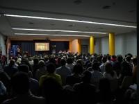 Gracias a todos por dejar pequeño el salón de actos del aula cultural de Lorca.