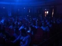 El público abarrotó el aforo del teatro Guerra.