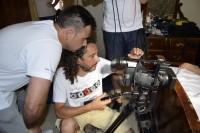 Con el director Bernardo Hernández