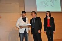 Gala de Alicante. Entrega de la Mención Honorífica de la Asociación de Libreros y Editores de Alicante a Fran J. Marber.