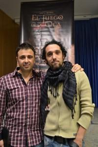 Un conferencia muy distendida en la que pude conocer a Javier del programa de radio