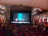 Las 550 localidades  del Teatro Guerra de Lorca fueron ocupadas para descubrir la nueva novela de Fran J. Marber.
